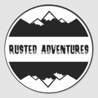 Rusted Adventures Stickers