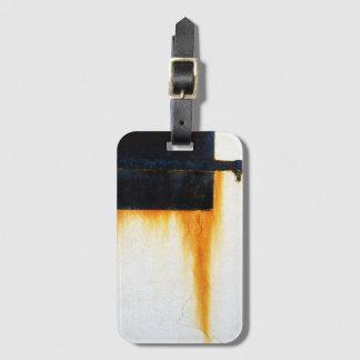 Rusted Bar Wall Luggage Tag