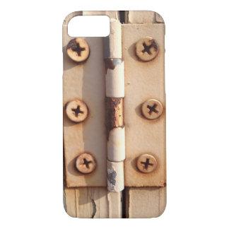 Rusted Barn Hinge iPhone 7 Case