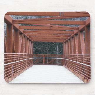 Rusted Bridge Mouse Pad