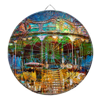 RUSTED CARNIVAL MEMORIES DARTBOARDS