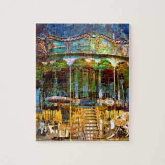 RUSTED CARNIVAL MEMORIES JIGSAW PUZZLE