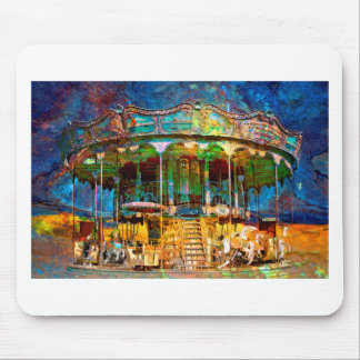 RUSTED CARNIVAL MEMORIES MOUSE PAD