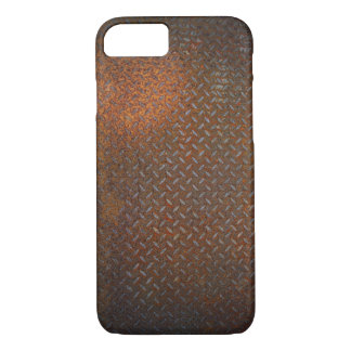 Rusted Check Plate iPhone 7 Case