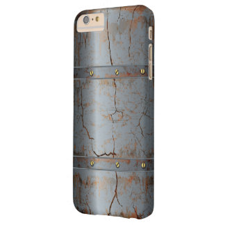 Rusted Cracked Metallic Barely There iPhone 6 Plus Case