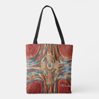 Rusted Cross tote