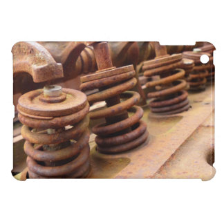 Rusted Engine Parts Manly Automotive Theme iPad Mini Covers