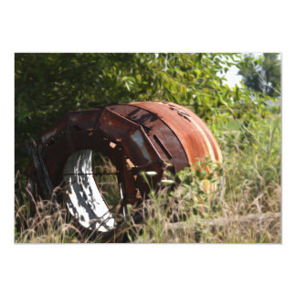 Rusted in a Field Custom Invites