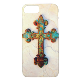 Rusted Iron Cross iPhone 7 case