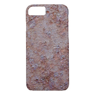 Rusted metal barrell iPhone 7 case