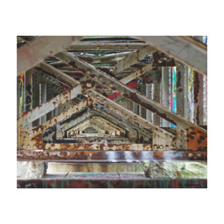 Rusted Metal Canvas Print