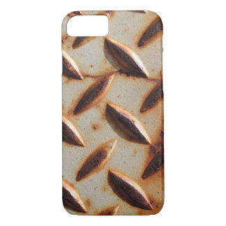 Rusted Metal Diamond Plate iPhone 8/7 Case