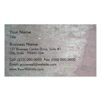 Rusted Metal Surface Pack Of Standard Business Cards