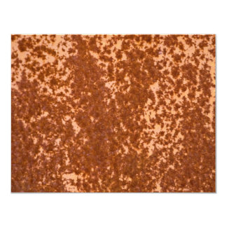 Rusted Metal Textured Invites