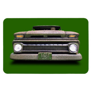 Rusted Old Vintage Colorado Pickup Truck Magnet