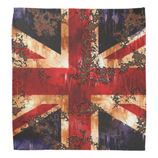 Rusted Patriotic United Kingdom Flag Bandana