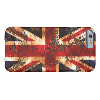 Rusted Patriotic United Kingdom Flag Barely There iPhone 6 Case