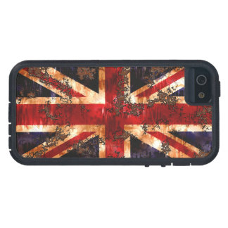 Rusted Patriotic United Kingdom Flag Cover For iPhone 5