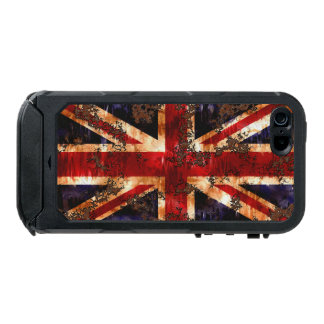 Rusted Patriotic United Kingdom Flag Incipio ATLAS ID™ iPhone 5 Case