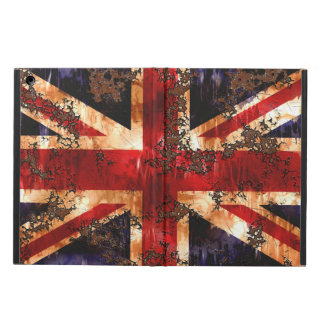 Rusted Patriotic United Kingdom Flag iPad Air Case