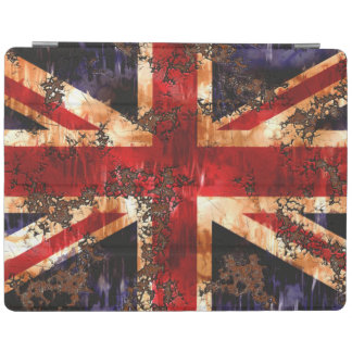 Rusted Patriotic United Kingdom Flag iPad Cover