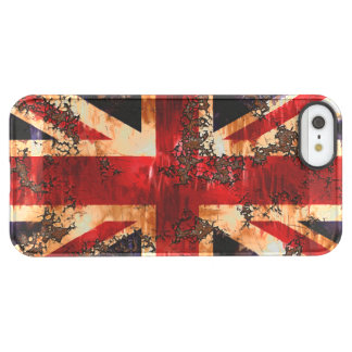 Rusted Patriotic United Kingdom Flag Permafrost® iPhone SE/5/5s Case