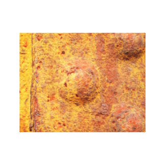 Rusted Riveted Metal Canvas Print