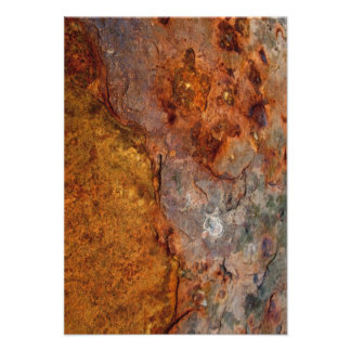 Rusted RSVP card