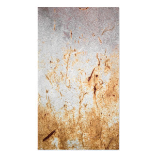 Rusted Rusty Metal Pack Of Standard Business Cards