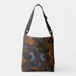 Rusted Splendor Fractal Tote Bag