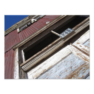 Rusted Tin Photo Print