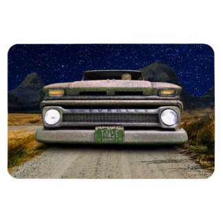 Rusted Vintage Colorado Pickup Truck Magnet