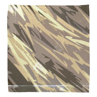 Rustic Abstract Pattern Bandana