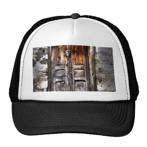Rustic Ages Country Cottage Wooden Doorway Trucker Hat