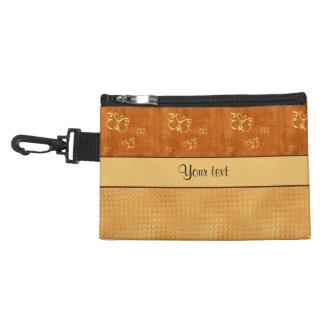 Rustic Amber  & Butterflies Accessories Bags