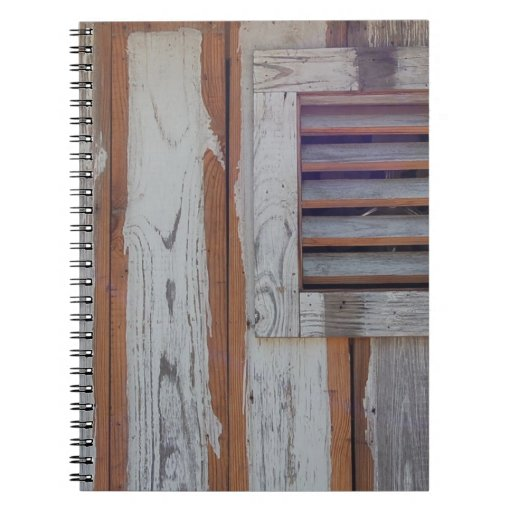 Rustic American Flag Spiral Note Books