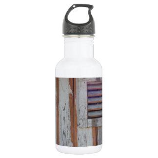Rustic American Flag 18oz Water Bottle