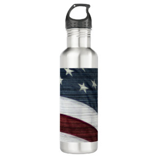 Rustic Americana Water Bottle