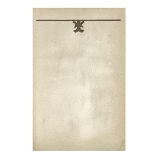 Rustic Antique Paper Decorative Scroll Stationery
