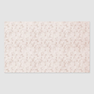 Rustic Apricot Rectangular Sticker