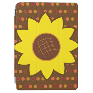 Rustic Autumn Sunflower iPad Air Cover