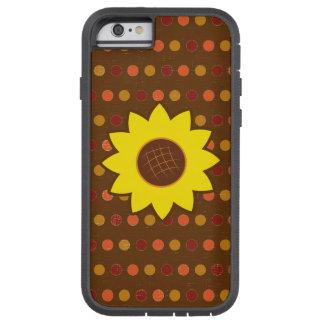 Rustic Autumn Sunflower Tough Xtreme iPhone 6 Case