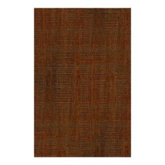 Rustic Bamboo Wood Grain Texture Look 14 Cm X 21.5 Cm Flyer
