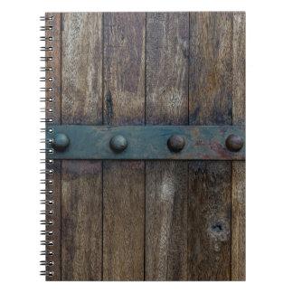 Rustic Barn Board Notebook