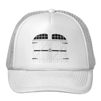 Rustic Barn Door Mesh Hat