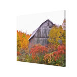 RUSTIC BARN SURROUNDED BY FALL COLOR