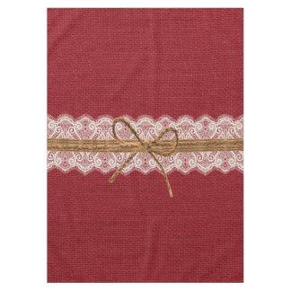 Rustic Barn Wedding Burlap Fall Wedding Tablecloth