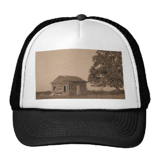 Rustic barn with tree hat