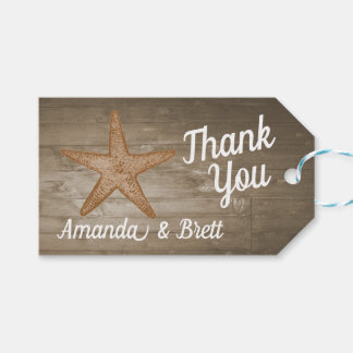 Rustic Beach Gift Tags