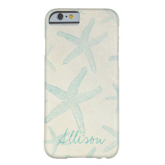 Rustic Beach Starfish Personalized Phone Case